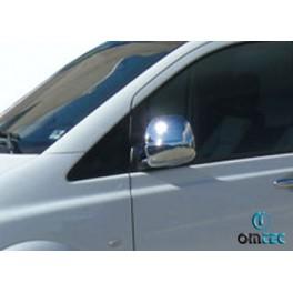 Capace oglinzi cromate Mercedes Vito 2004-2010 W639