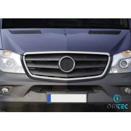 Ornamente inox contur grila radiator Mercedes Sprinter 2013+ W906 Facelift