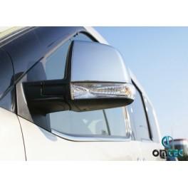 Capace cromate oglinzi Fiat Doblo 2010+