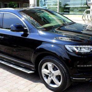 Praguri laterale aluminiu Audi Q7