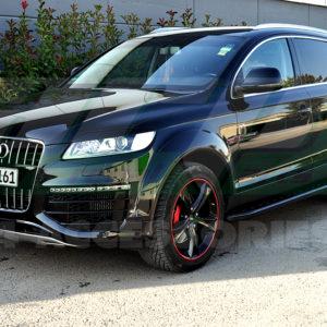 Praguri laterale aluminiu si ABS Audi Q7