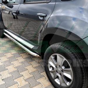 Praguri laterale inox Dacia Duster 2012+