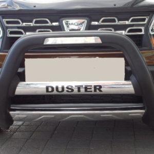 Bullbar bara protectie fata poliuretan Dacia Duster 2010+