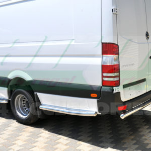 Prelungiri praguri laterale inox Mercedes Sprinter 2007+ W906