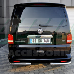 Coltare protectie spate inox Vw Transporter T5 ,T6 2004+