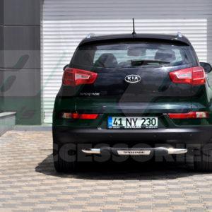 Bara protectie spate Kia Sportage 2010+ fabricata din inox + poliuretan