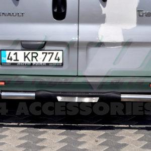 Bara protectie spate Renault Trafic fabricata din inox + poliuretan