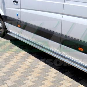 Praguri laterale inox Mercedes Sprinter 2007+ W906
