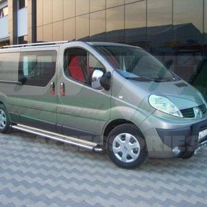 Praguri laterale inox Renault Trafic 2004+