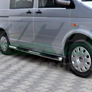 Praguri laterale din inox Vw Transporter T5 , T6 2004+