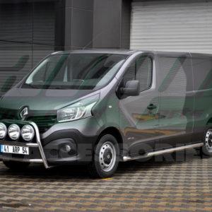 Praguri laterale inox Renault Trafic 2015+