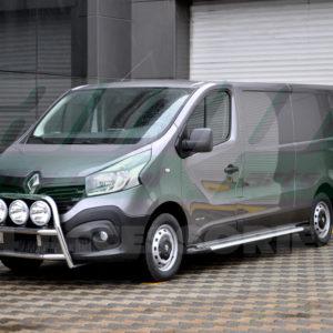 Praguri laterale din aluminiu Renault Trafic 2015+