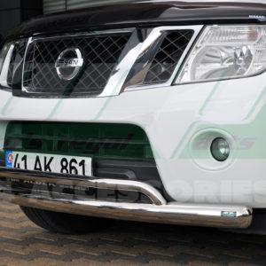 Bara protectie fata inox Nissan Navara 2010-2015