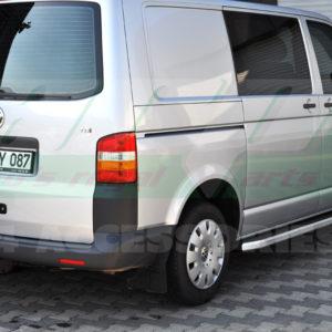 Praguri laterale din aluminiu Vw Transporter T5 , T6 2004+