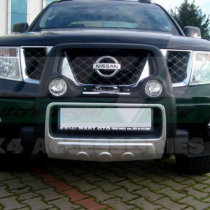 Bullbar bara protectie fata poliuretan Nissan Navara 2006+
