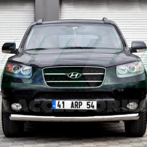 Bara protectie fata inox Hyundai Santa Fe 2007-2012