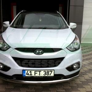 Bara protectie fata inox Hyundai IX 35