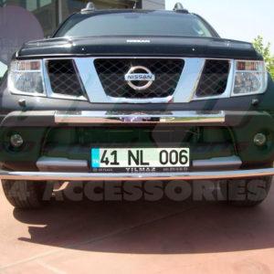 Bara protectie fata inox Nissan Navara 2006+