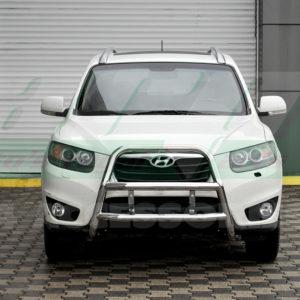 Bullbar bara protectie fata inox Hyundai Santa Fe 2007-2012