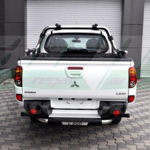 Bara protectie spate Mitsubishi L200 fabricata din inox si poliuretan