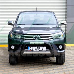 Bullbar bara protectie fata poliuretan Toyota Hilux 2015+
