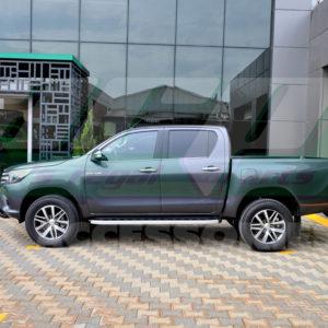 Praguri laterale din aluminiu Toyota Hilux 2006+