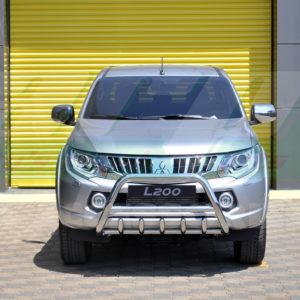 Bullbar bara protectie fata inox Mitsubishi L200 2010+
