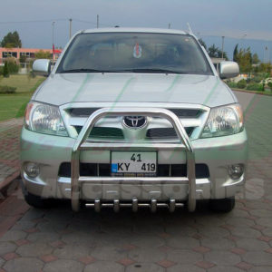 Bullbar bara protectie fata inox Toyota Hilux 2006-2009