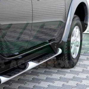 Praguri laterale din aluminiu Mitsubishi L200 2010+