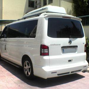 Eleron-spoiler spate Vw T5 Transporter,Caravelle,Multivan