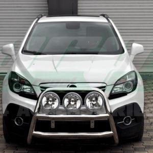 Bullbar fata inox Opel Mokka 2012-2014 cod WT018 Kungsbacka