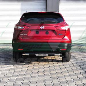 Bara protectie spate inox si poliuretan Nissan Qashqai cod AK025 Titanic