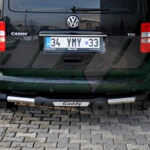 Bara protectie spate inox+ poliuretan Vw Caddy 2011+ cod AK026 Nitro