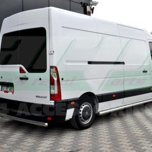 Bara protectie spate inox Renault Master 2010+ cod AK002 Merkur