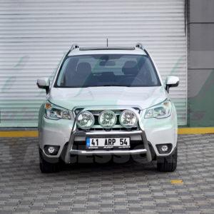 Bullbar bara protectie fata inox Subaru Forester cod WT018 Kungsbacka 2013+
