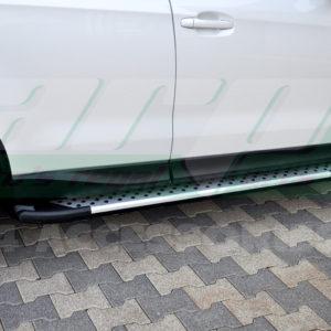 Praguri laterale din aluminiu Subaru Forester 2013+ cod AB004 Artemis Silver