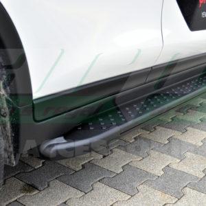 Praguri laterale din aluminiu Nissan Xtrail 2014-2016 cod AB005 Artemis Black