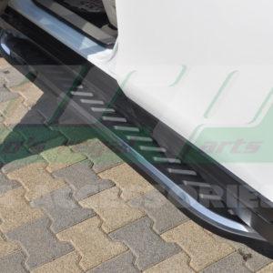 Praguri laterale din aluminiu Nissan Xtrail 2014-2016 cod NR001 Northstar Chrome