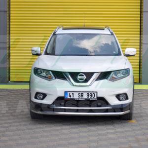 Bara protectie fata inox Nissan XTrail cod ST008 Tetri