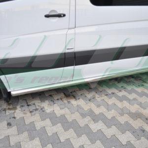 Praguri laterale inox Mercedes Sprinter W906 cod BB004 Arena