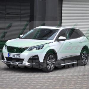 Praguri laterale aluminiu Peugeot 3008 2017+ cod AB004 Artemis Silver
