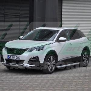 Praguri laterale aluminiu Peugeot 3008 2017+ cod NS001 Newstar Grey