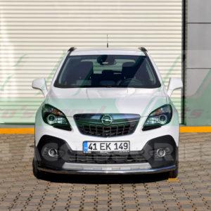 Bara protectie fata inox Opel Mokka 2012-2014 cod ST008 Tetri
