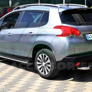 Praguri laterale din aluminiu Peugeot 2008 2014+ cod HT001 Kure
