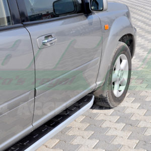 Praguri laterale din aluminiu Nissan Xtrail 2002-2007 cod NS001 Newstar Grey