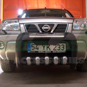 Bullbar poliuretan Nissan XTrail 2002-2007 cod QT001 Atlas