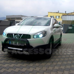 Bullbar bara protectie fata poliuretan Nissan Qashqai cod WT013 India