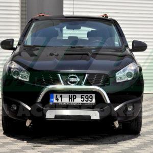 Bullbar din inox si poliuretan Nissan Qashqai 2007-2014 cod WT015 Amazon