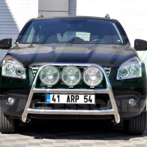 Bullbar inox Nissan Qashqai 2007-2014 cod WT018 Kungsbacka