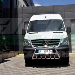 Bullbar fata inox Mercedes Sprinter W906 cod WT003 Inform